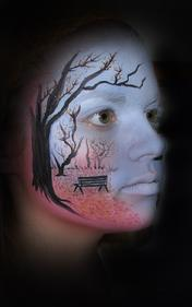 Landscape Face Painting